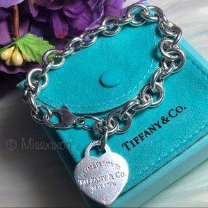 ❤️ Tiffany & Co. - Authentic Heart Tag Bracelet
